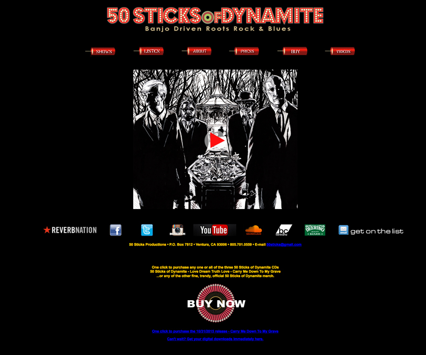 50 Sticks of Dynamite