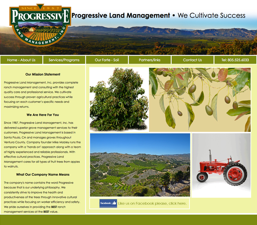 Progressive Land Management